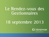 The Rendez-vous des Gestionnaires 2013: What a success!