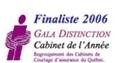 Finaliste 2006 Gala Distinction RCCAQ