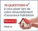 10 questions à vous poser lors de votre renouvellement d'assurance habitation